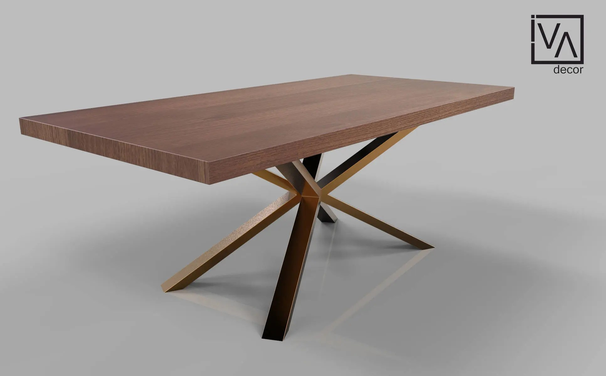 Spider Base Metal Dining Table Legs For Sale Solid Rose Gold