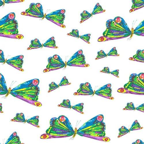 Butterfly Dance Fabric, B...