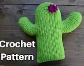 Crochet Cactus Pillow PAT...