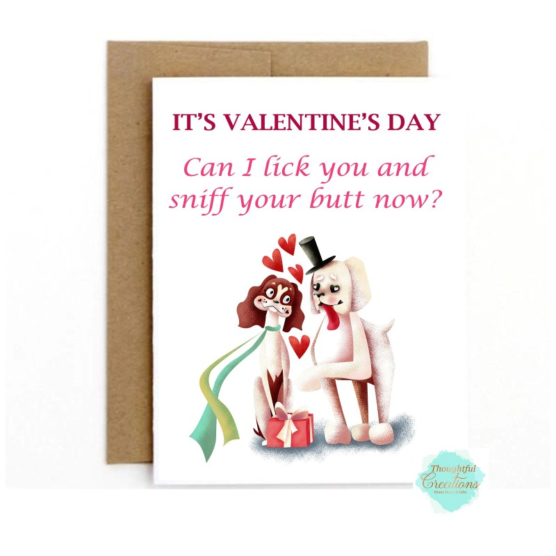 Valentines Day Card, Funn...