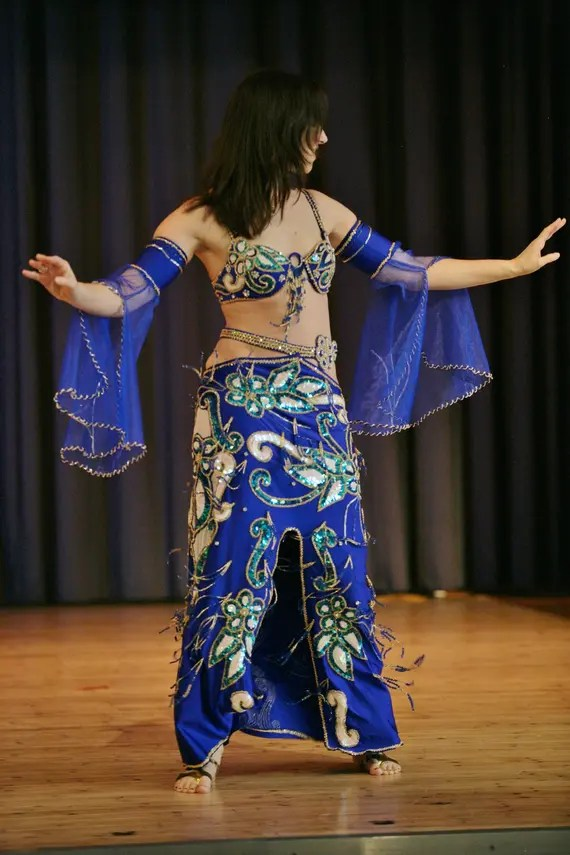 Egyptian professional belly dance costume Bellydance Dress