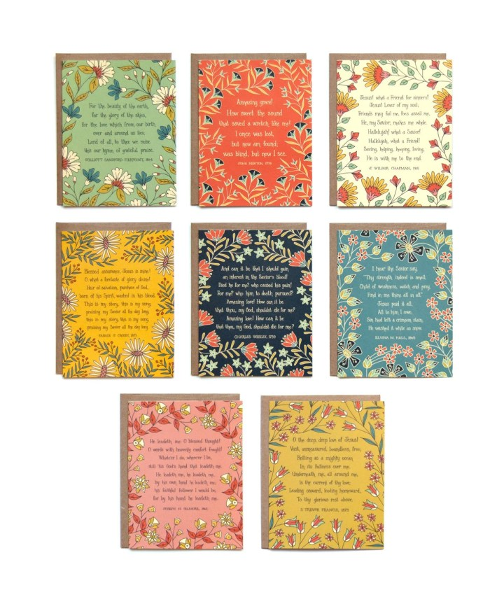 Floral Hymn Greeting Card...