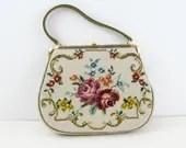 Vintage tapestry purse, n...