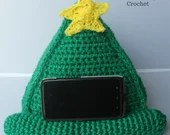 Crochet phone stand table...