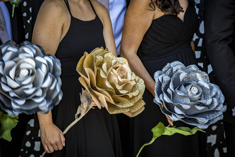 Giant Paper Flower Bouquet, Bridal Bouquet, Artificial