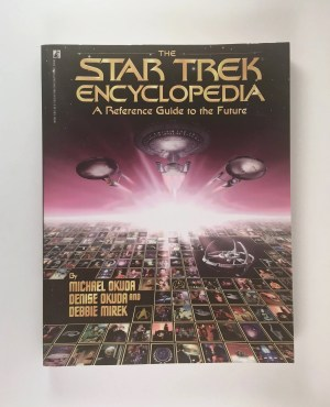 Star Trek Encyclopedia Reference Guide to the Future Vintage