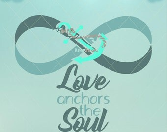 Download Hope Anchors the Soul Anchor SVG Vector Cut File