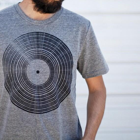 record t shirt