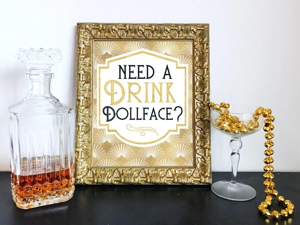 Printable Need a Drink Do...