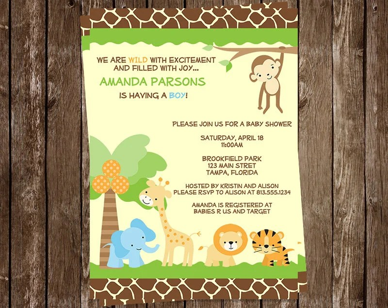 Discount Baby Shower Invitations Printed