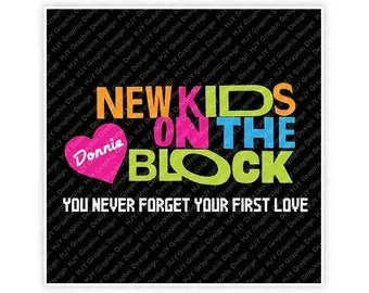 Download NKOTB Only Cue the Screams Handpainted New Kids on the ...
