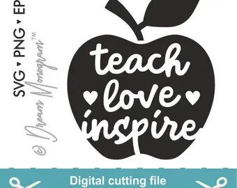 Download Teacher svg   Etsy