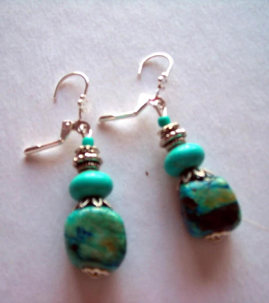 Silver South West Earrings