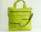 Apple Green Water-Resistant Nylon Bag - Melissa
