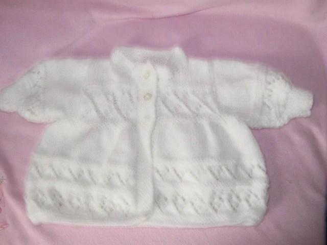 babys white matinee coat