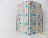 Scrabble journal - Handmade Journal