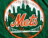 HOLIDAY SPECIAL- Upcycled Tee Onesie: Geico OR Mets