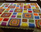CROCHET BLANKET HANDMADE  Made in Cuddle Blanket   777