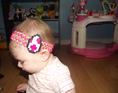 Super Mario Yoshi Egg Perler Baby Headband