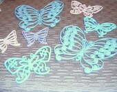 20%  Off Sale      Wall Butterflies,Vintage,  Syroco Butterfilies, Upcycled, Butterflies, Collections