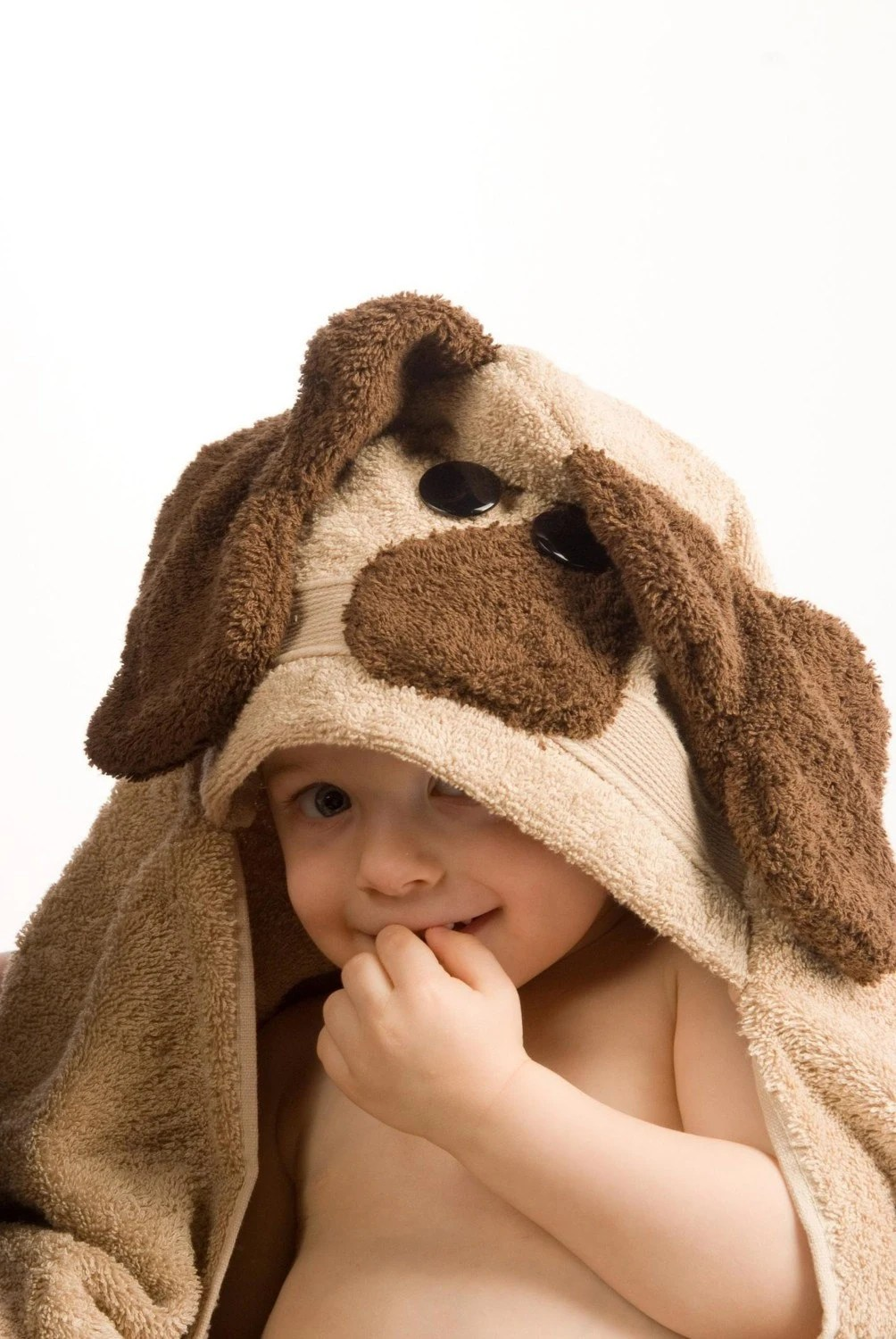 PERSONALIZED Dog Hooded Towel