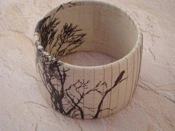 Blackbird Chunky Bracelet (Made to Order)