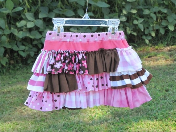 Sweet Innocence Ruffle Skirt - Size 2/3