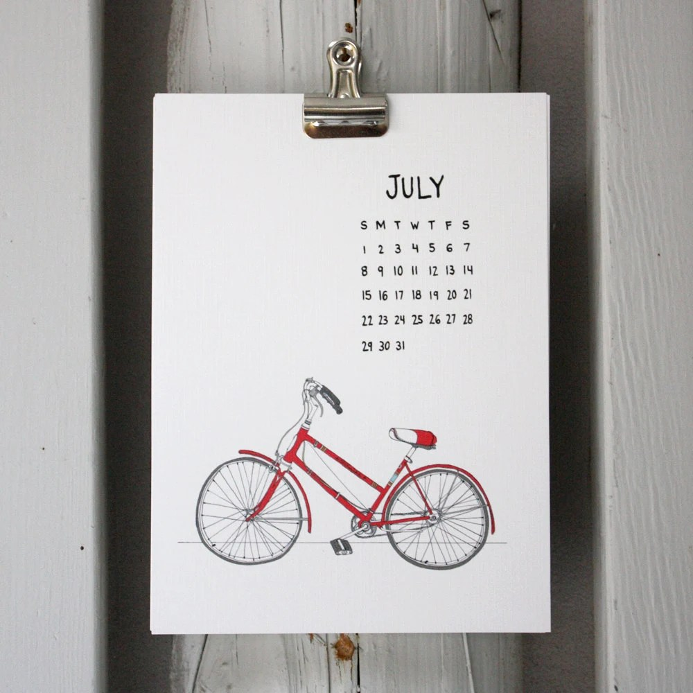 2012 illustrated calendar