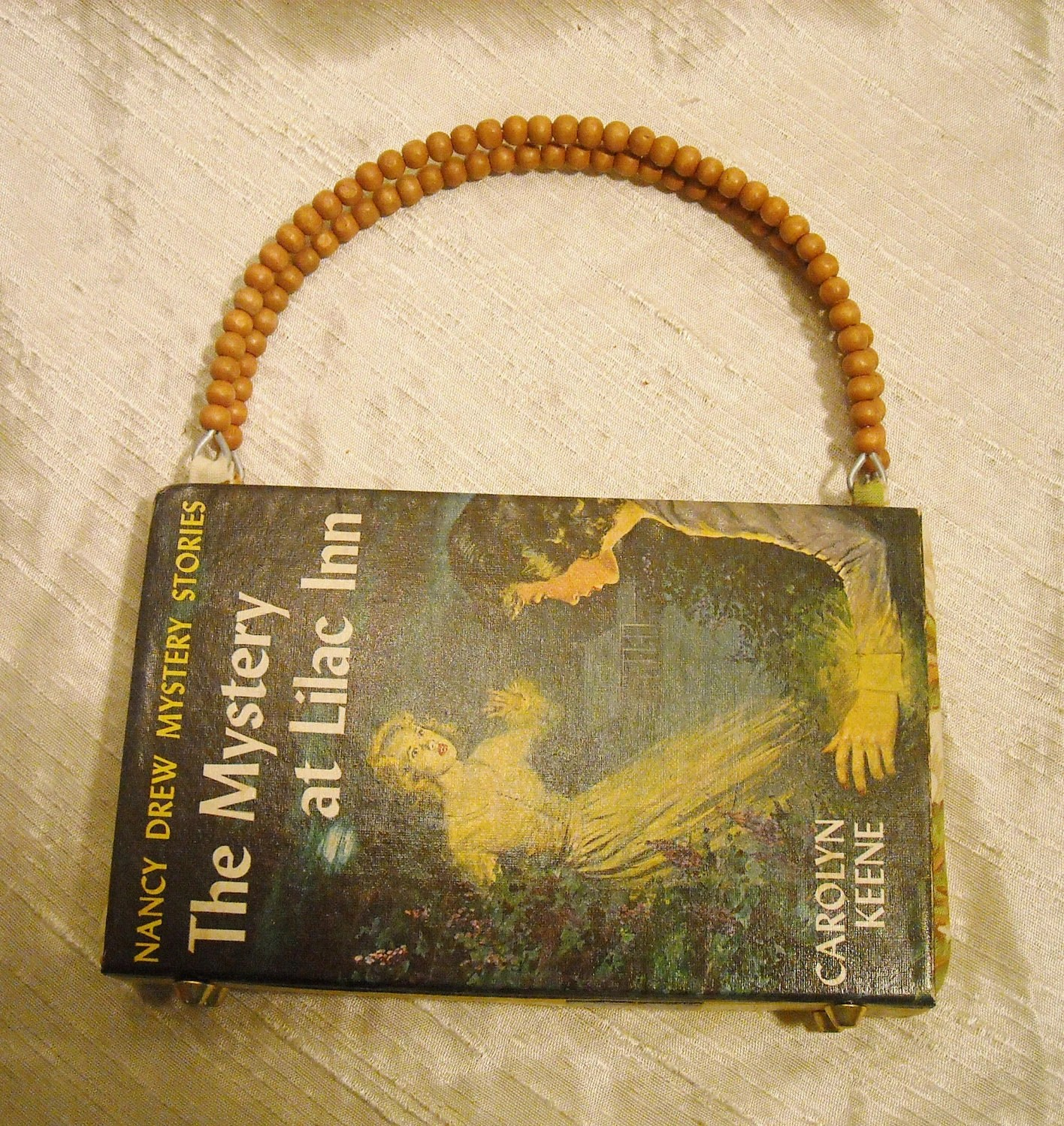 Nancy Drew Altered Book Purse