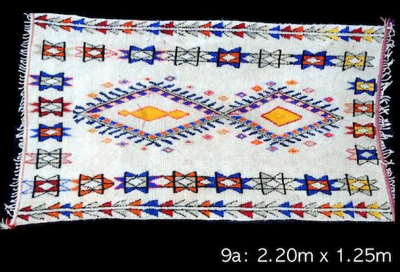 vintage moroccan azilal carpet