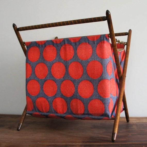 Vintage Folding Knitting Basket : Etsy finds folding baskets knitnook