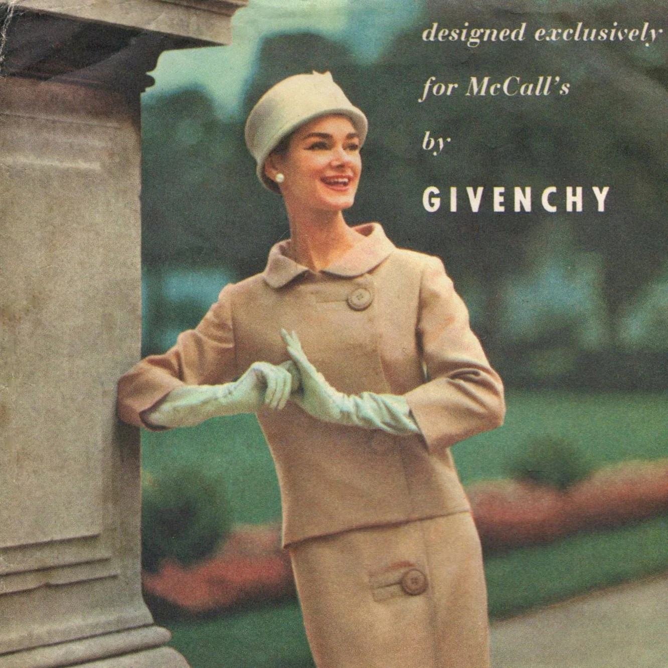 1950s Givenchy suit pattern McCall's 4005
