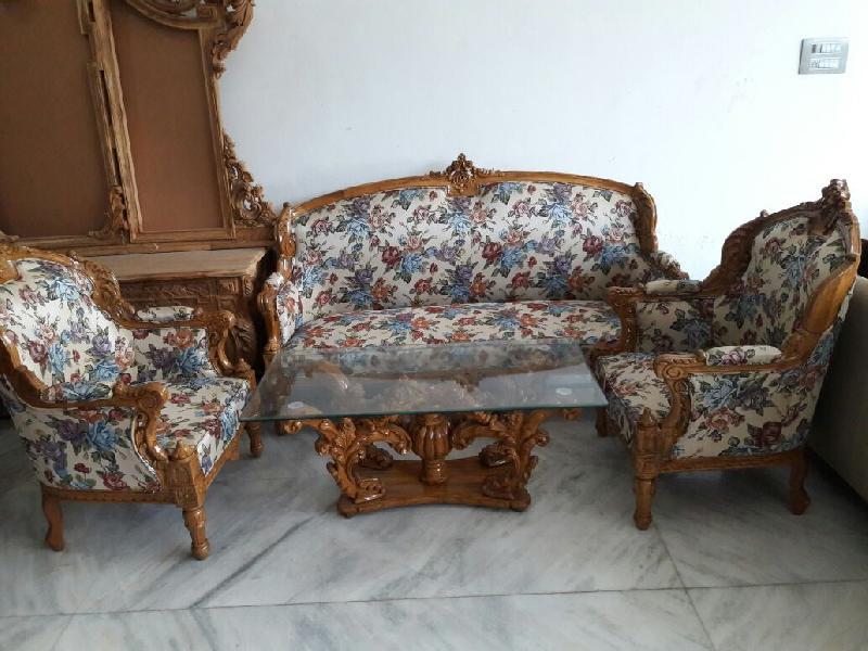 Wooden Carved Sofa Set India Www Stkittsvilla Com