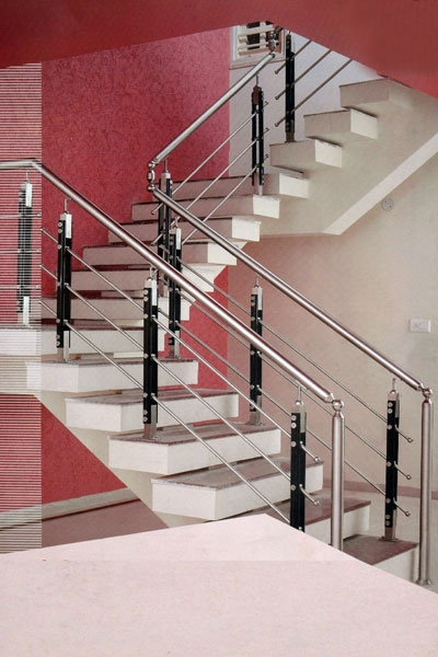 Stainless Steel Staircase Handrails Manufacturer Exporters From   Ss Handrails For Stairs   Flat Steel   Mild Steel Handrail   Metal   Steel Railing   Commercial Building