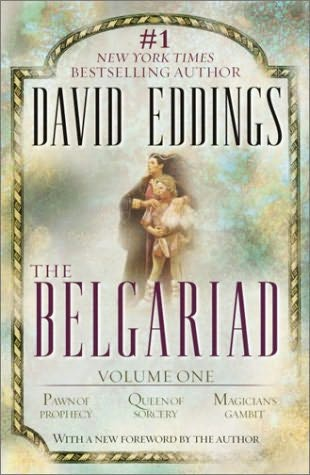cover art of the belgariad