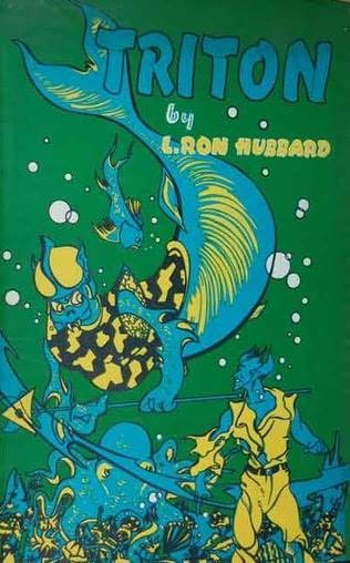 book cover of   Triton and Battle of Wizards   by  L Ron Hubbard