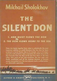 book cover of The Silent Don (Silent Don) by Mikhail Sholokhov