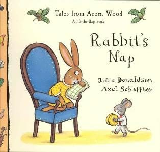 book cover of Rabbit's Nap (Tales from Acorn Wood) by Julia Donaldson