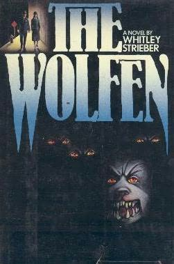 book cover of   The Wolfen   by  Whitley Strieber