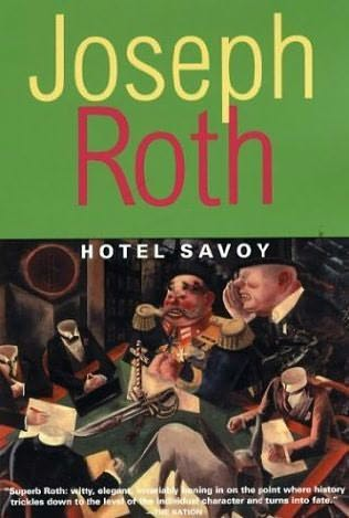 Hotel Savoy, Joseph Roth