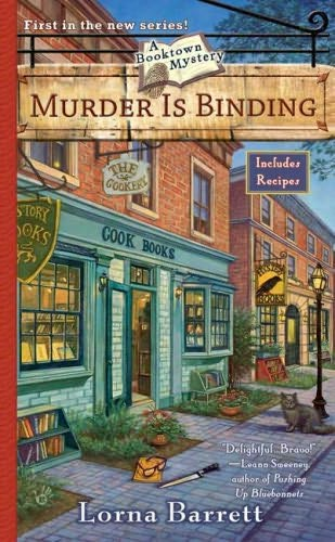 book cover of  Murder Is Binding   (Booktown Mystery, book 1) by Lorna Barrett