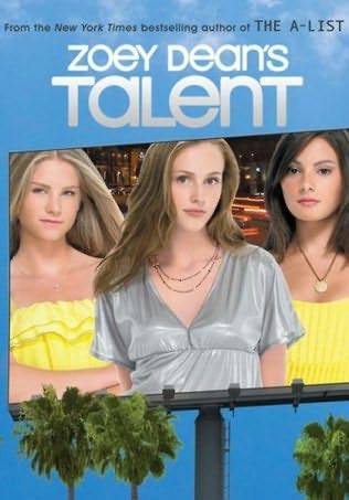book cover of  Talent   (Talent, book 1) by Zoey Dean