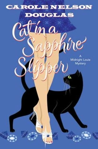book cover of </p><br /><br /><p>Cat in a Sapphire Slipper </p><br /><br /><p>