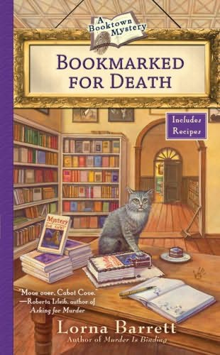 book cover of  Bookmarked For Death   (Booktown Mystery, book 2) by Lorna Barrett