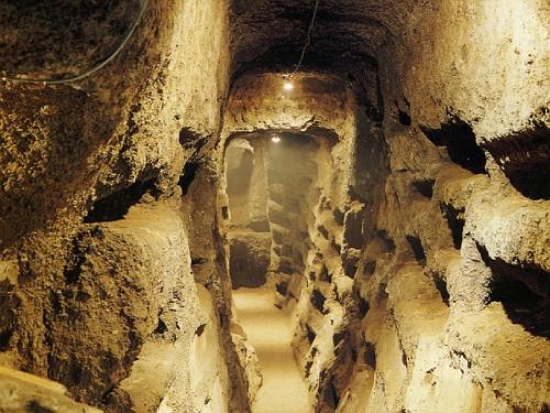 Risultati immagini per catacombe bolsena