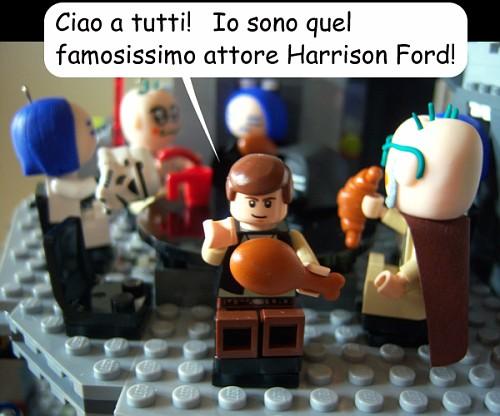 """""""Ciao a tutti! Io sono quel famosissimo attore Harrison Ford!"""""""