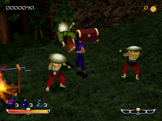 Play Ninja   Shadow of Darkness Sony PlayStation online   Play retro     Ninja   Shadow of Darkness ingame screenshot