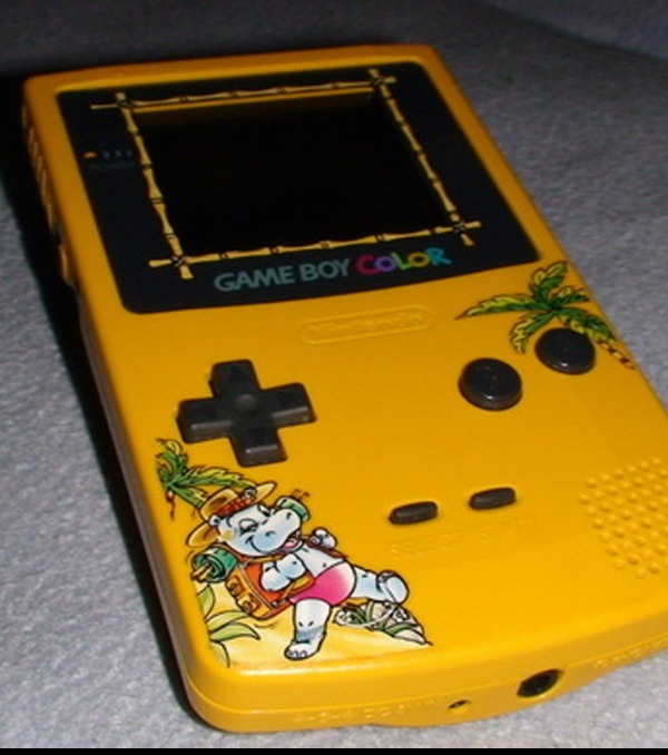 Photo Game Boy Color Dition Limite Console Sortie Loccasion Du Ferrero SpA Competition