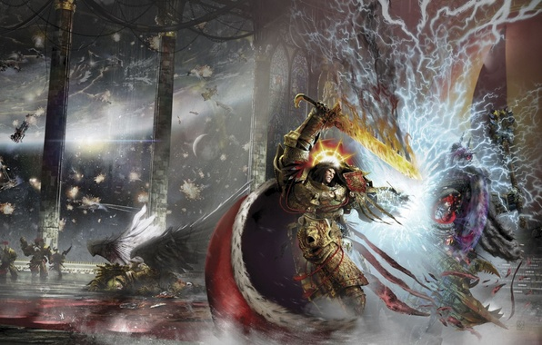 Wallpaper Terra Horus Heresy Warhammer 40000 The