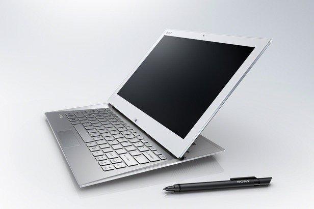 索尼发布Duo 13滑盖超极本 全高清屏配手写笔